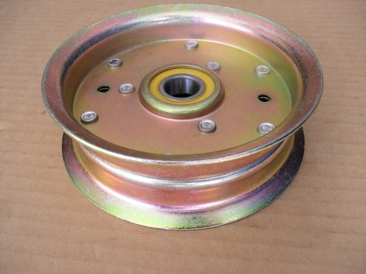 New Idler Pulley Kit W//Transmission Drive Belt For John Deere D140 D150 D160 D170