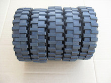 Craftsman and Mclane Roller Drive Tires for Reel Tiff Lawn Mower 1035, 1035A, tire, 5 Tires, wheels