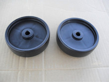 Deck Roller Wheels for Toro GT2100, GT2200, LX420, LX423, LX425, LX426, LX427, LX460, LX465, LX466, LX468, LX500, SL500, 112-0337, 1120337, Wheel Set of 2