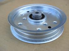Deck Flat Idler Pulley for Toro GT2100, GT2200, GT2300, LX423, LX425, LX426, LX427, LX460, LX465, LX466, LX468, LX500, 1120314, 112-0314