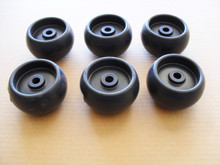 Deck Roller Wheels for Simplicity 1714760, 1714760SM, Wheel Set of 6