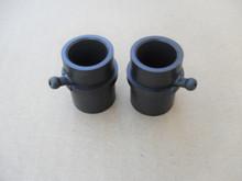 Wheel Plastic Bushing Bearing with Grease Fitting for Bolens, MTD, Murray, Yardman, YardMachine 741-0990, 741-0990A, 741-0990B, Set of 2 bushings bearings
