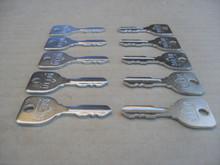 Delta Ignition Switch Keys for Ariens, AYP, Craftsman, Husqvarna, John Deere, Kohler, MTD, Murray, Snapper, Toro, Shop Pack 11218-10