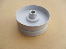 "Flat Idler Pulley for Snapper 76520, 7076520, 7076520YP, 7-6520, Height: 1-3/16"" ID: 3/8"" OD: 2-3/4"""