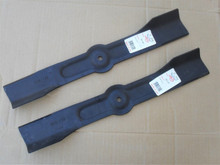 """Bagging Hi Lift Blades for Noma 36"""" Cut 306931, 58212, Made In USA"""