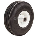 Flat Free Wheel Tire Rim Assembly 4.10x3.50-4