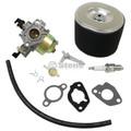 Carburetor for Honda GX340, 16100ZE3V01, 16100-ZE3-V01 Includes Air Filter, Fuel Line, Gaskets, Spark Plug, Fuel Tank Joint Filter