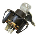 Ignition Starter Switch for KohlerCH18, CH20, CH23, CH620, CH640, CH670, CH680, CH730, CH740, 2509930S, 25 099 30-S, Includes Keys