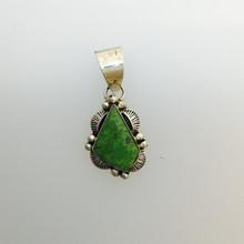 Green Gaspiete Pendant 0150