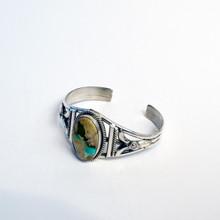 Boulder Sterling Cuff  Bracelet