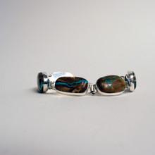 Boulder Turquoise Link Bracelet