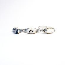 White Buffalo Stone Link Bracelet