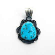 Sleeping Beauty Turquoise Pendant 175