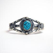 Kingman Turquoise Cuff Bracelet 450