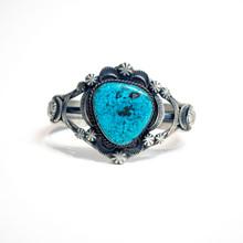 Kingman Turquoise Cuff Bracelet 360
