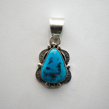 Sleeping Beauty Turquoise Pendant 110 SOLD