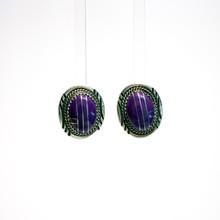 Sugilite Inlay Earrings