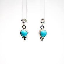 Sleeping Beauty Turquoise Post Earrings