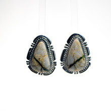 Boulder Turquoise Post Earrings 110