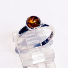 Round Amber Ring