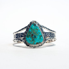 Turquoise Sterling Silver  Cuff 330