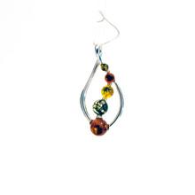 Leaf Amber Sterling Silver Pendant