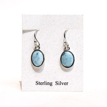Larimar Oval Earrings SOLD