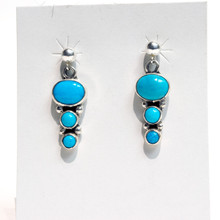 Blue Turquoise Earrings SOLD