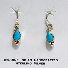 Sleeping Beauty  Turquois Earrings