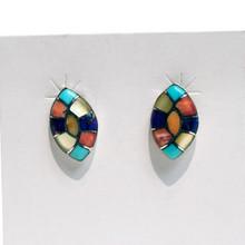 Multicolor Post Earrings