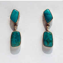 Turquoise Jointed Earrings