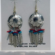 Concha Dream Catcher Earrings