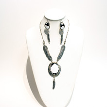 Patrick Yazzie White Buffalo Necklace Set