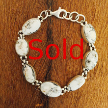 White Buffalo Link Bracelet