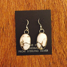 White Buffalo earrings 0124
