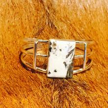White Buffalo Cuff Bracelet 0310