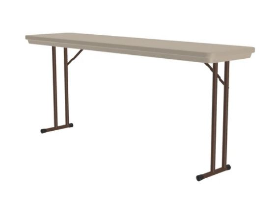 Heavy Duty Commercial Plastic Folding Tables - Standard Height