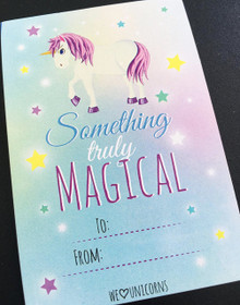 Pack of 10 Magical Pastel Truly Unicorn Gift Tags Special Occasion Birthdays