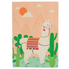 A5 Llama Notebook Fun Gift Sketch Book Journal Diary Kids School Cute Animal
