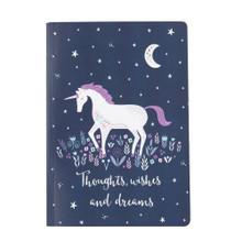 Starlight Unicorn A5 Notebook