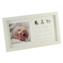 Bambino Photo Frame Baby Tiny Fingers Tiny Toes 5 x 5 (CG340)