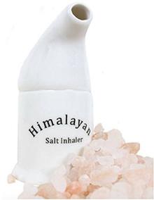 Himalayan Salt Inhaler Pipe Includes Salt Natural Respiratory Relief