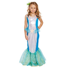 Children's Mermaid Fancy Dress Costume-Size Large- Ages 10-12