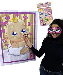 "Alandra DUM-BABY ""Baby Shower Pin the Dummy on the Baby"" Game"