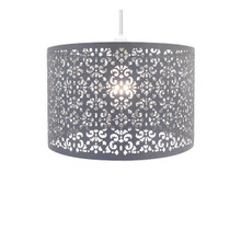Chandelier Chic Ceiling Light Pendant Shade Crystal Droplet Fitting Easy Fit