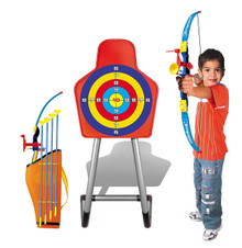 Archery Set With Target and Stand