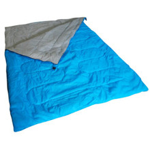 Kingfisher Unisex OLSB2 Double Polyester Camping Sleeping Bag, Blue