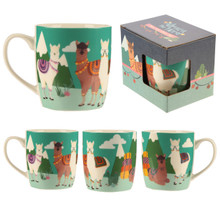 Alpaca the Herd New Bone China Mug