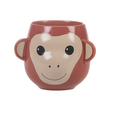 Treetop Friends Happy Monkey Mug