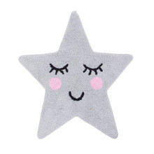 Sass & Belle – Sweet Dreams Rug, Star Design, Grey